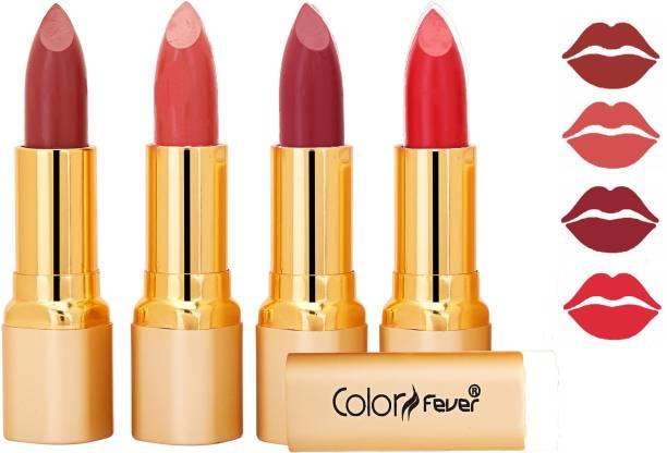 Color Fever Exclusive Long Lasting Intense Wear Matte Lipstick (Multicolor) 76