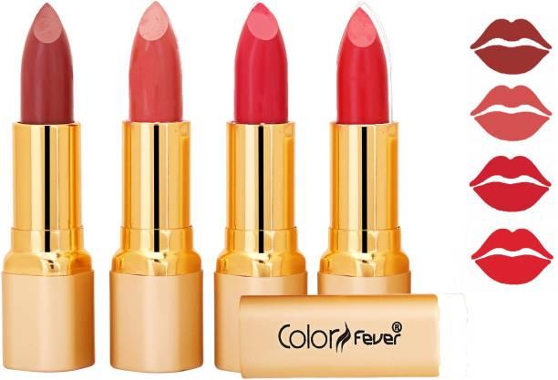 Color Fever Exclusive Long Lasting Intense Wear Matte Lipstick (Multicolor) 85