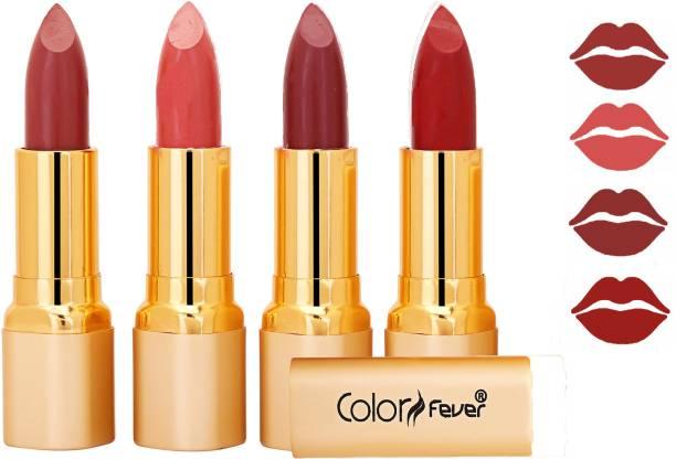 Color Fever Exclusive Long Lasting Intense Wear Matte Lipstick (Multicolor) 65