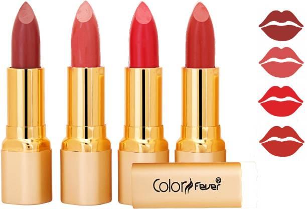Color Fever Exclusive Long Lasting Intense Wear Matte Lipstick (Multicolor) 102