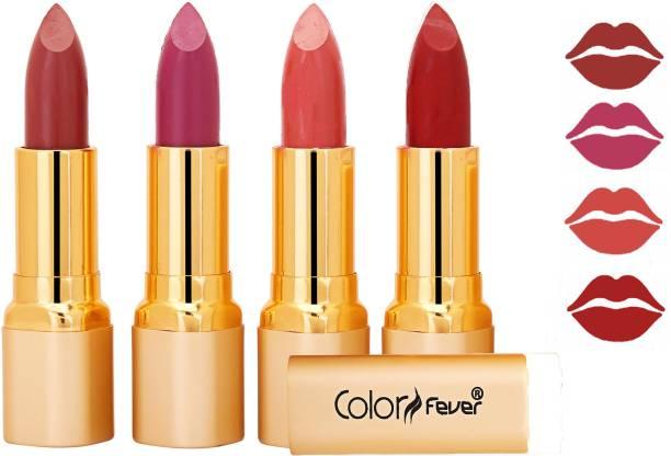 Color Fever Exclusive Long Lasting Intense Wear Matte Lipstick (Multicolor) 06