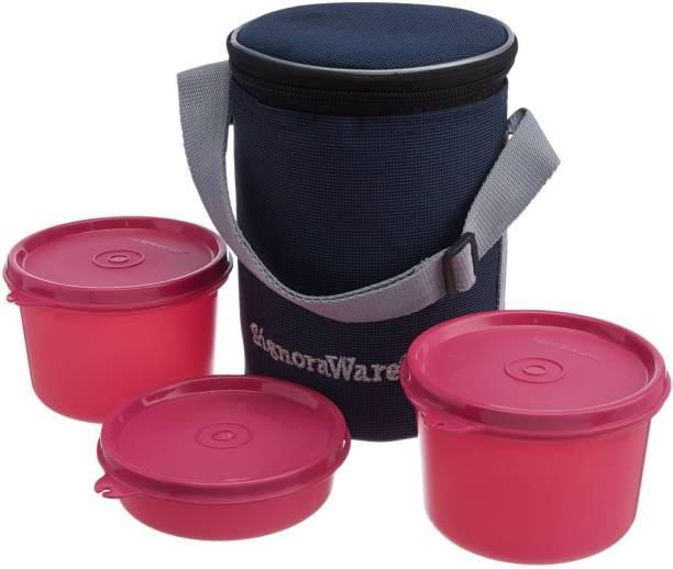 Signoraware Executive Medium 3 Containers Lunch Box