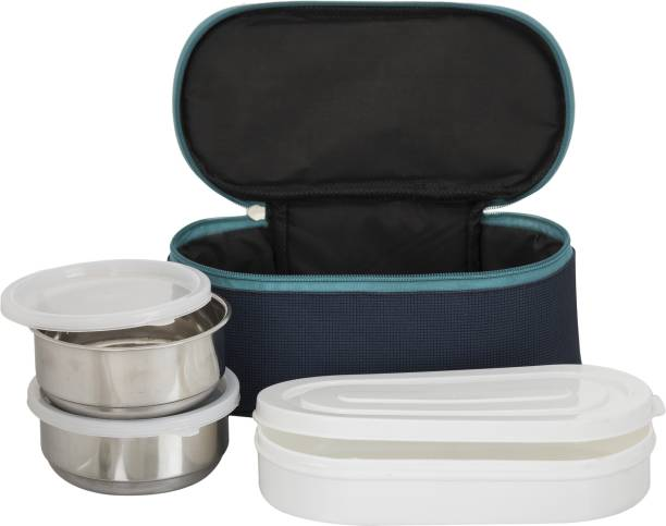 Topware Bestway New Double Decker Multi-Purpose 3 Containers Lunch Box