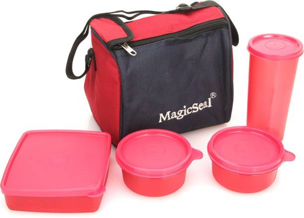 POLYSET Magic SeaL - Luxur 4 Containers Lunch Box