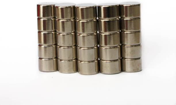 Techtone Magnetics 8mm x 5mm Multipurpose Office Magnets Pack of 25
