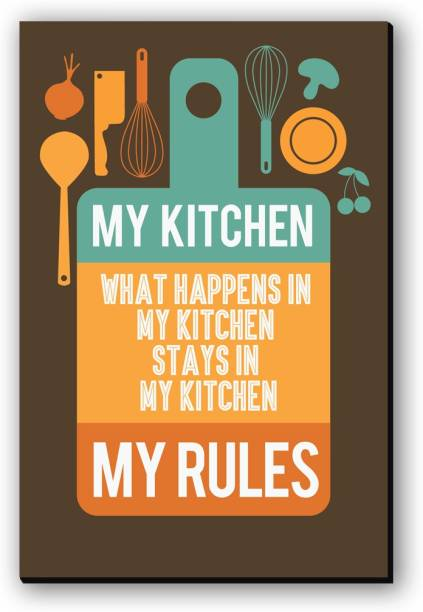 Seven Rays What Happens in My Kitchen Fridge Magnet Pack of 1