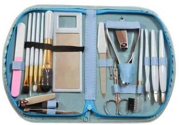 Newvez Portable Make Up Cosmetics Brush Gift Set Tool Kiit