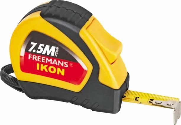 FREEMANS IKON 7.5meters x 25mm Blade Measurement Tape