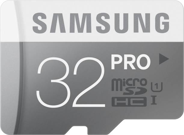 SAMSUNG Pro 32 GB MicroSDHC Class 10 80 MB/s  Memory Card