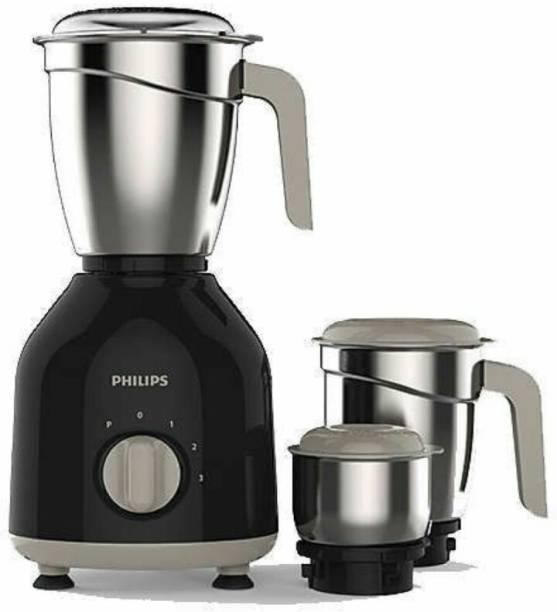 PHILIPS hl 7756 750 W Mixer Grinder (3 Jars, Black)