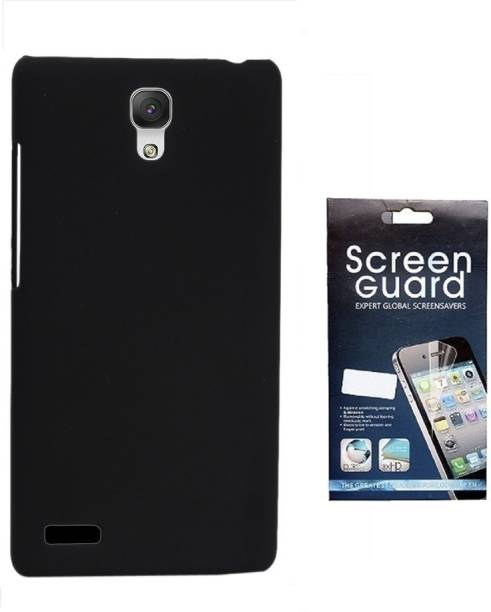 RDcase Back Cover and Screen Protector For Micromax Canvas Xpress 2 E313 Accessory Combo