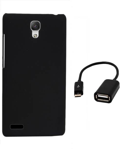 RDcase Back Cover and OTG Cable For Micromax Canvas Xpress 2 E313 Accessory Combo