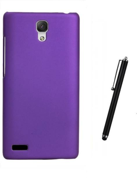 RDcase Back Cover and Stylus Pen For Micromax Canvas Xpress 2 E313 Accessory Combo