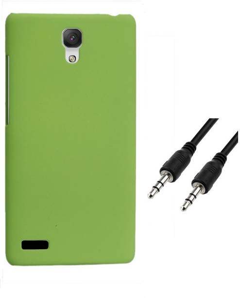RDcase Back Cover and Aux Cable For Micromax Canvas Xpress 2 E313 Accessory Combo