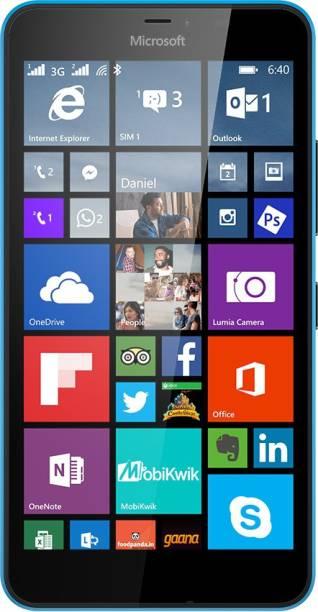 MICROSOFT Lumia 640 XL (Cyan, 8 GB)