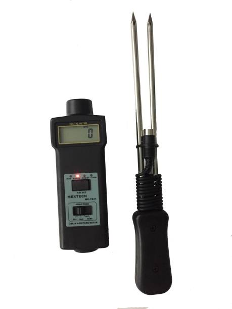 Mextech MC7821 Digital Moisture Meter Pin-Type Digital Moisture Measurer