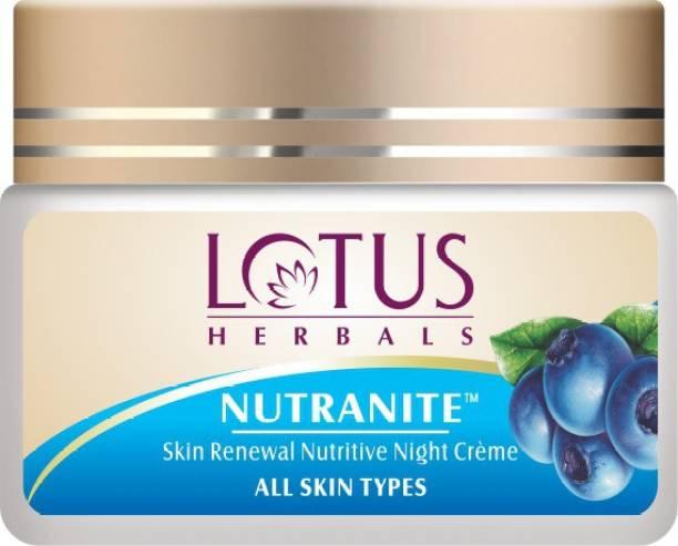LOTUS HERBALS HERBALS NUTRANITE Skin Renewal Nutritive Night Creme
