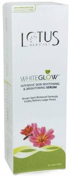 LOTUS Whiteglow Intensive Skin Whitening & Brightening Serum+Moisturiser