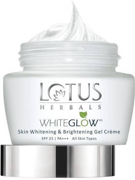 LOTUS WhiteGlow Skin Whitening & Brightening Gel Creme