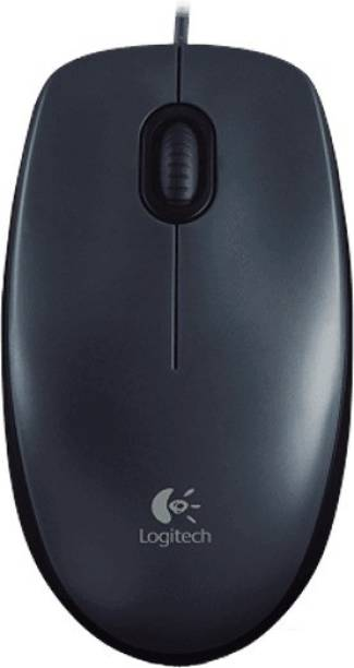 Logitech m100r-Black Wired Optical Mouse