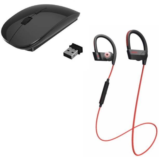 79578af728a ROQ Wireless Bluetooth Headset With Mic With Ultra Slim Wireless Wireless  Optical Gaming Mouse