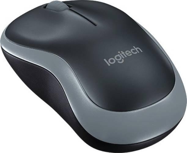 Logitech M-185 Grey Wireless Optical Mouse