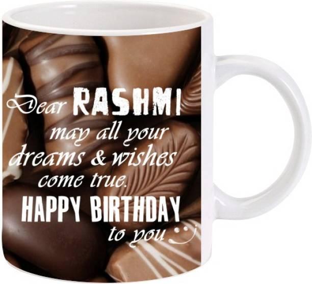 Lolprint Happy Birthday Rashmi Ceramic Coffee Mug