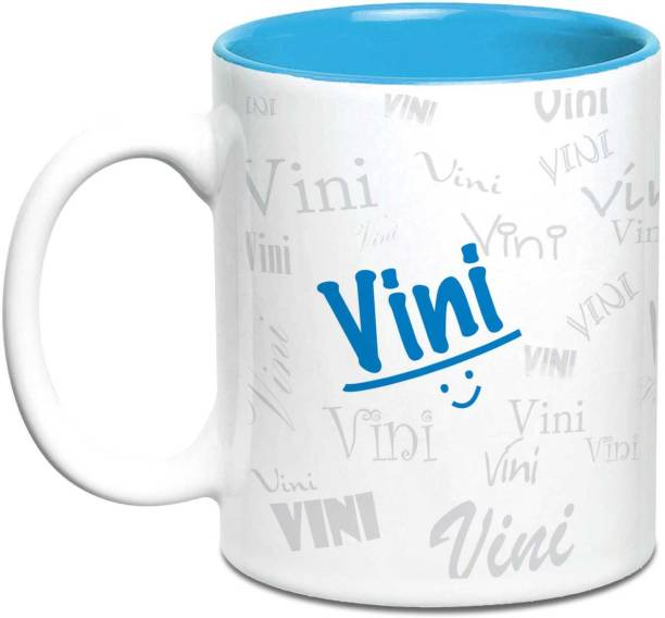 HOT MUGGS Me Graffiti - Vini Ceramic Coffee Mug