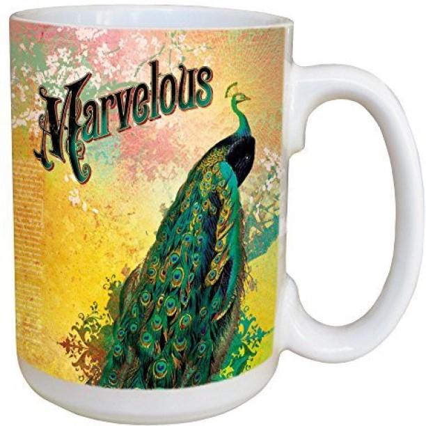 Tree-Free Greetings lm44207 Deer Hunter 15-Ounce Tree Free Psalm 42:1 Ceramic Mug with Full-Sized Handle