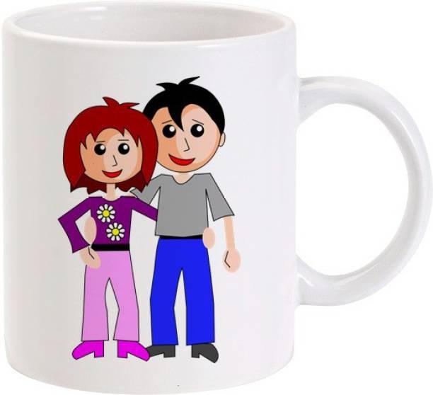 Lolprint Me and My Husband Ceramic Coffee Mug