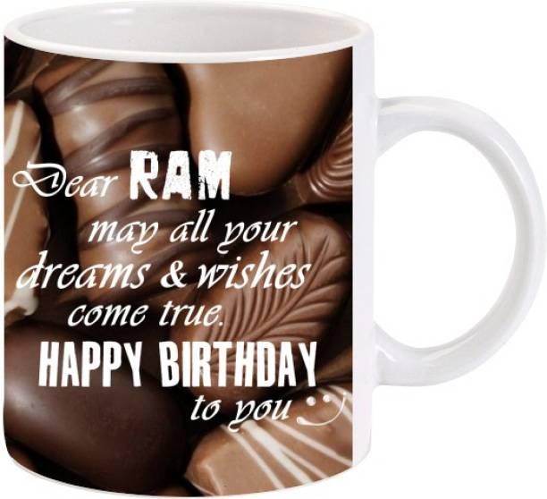 Lolprint Happy Birthday Ram Ceramic Coffee Mug