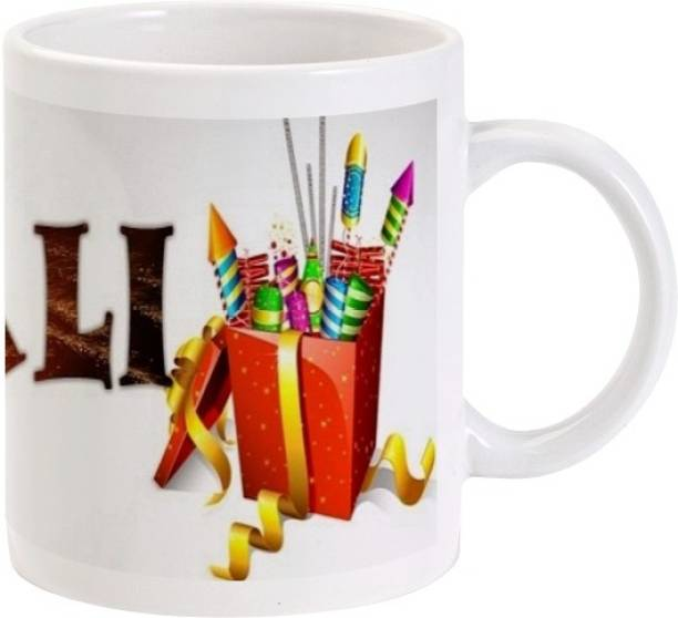 Lolprint 115 Diwali Ceramic Coffee Mug