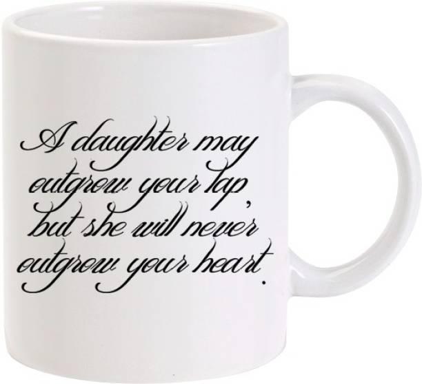 Lolprint 02 Daughter Fathers Day Gift Ceramic Coffee Mug