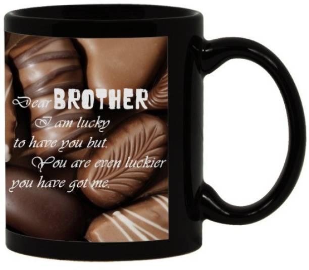 Lolprint 28 Rakhi Gifts Ceramic Coffee Mug