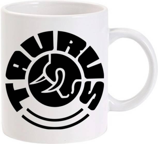 Lolprint 3 Taurus Zodiac Sign Ceramic Coffee Mug
