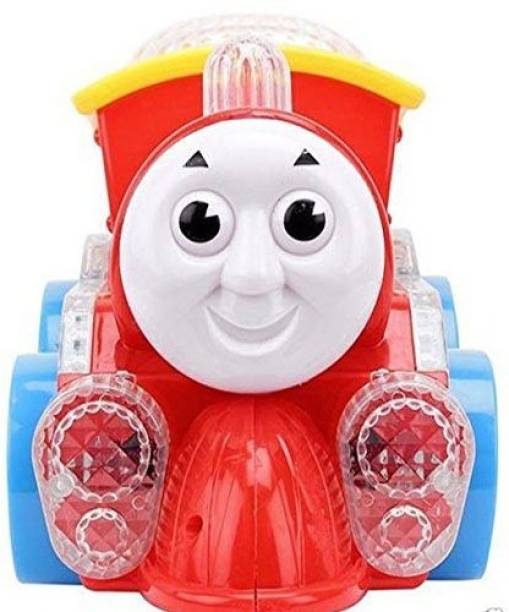Firstep Musical Thomas Train with lights and Trucks