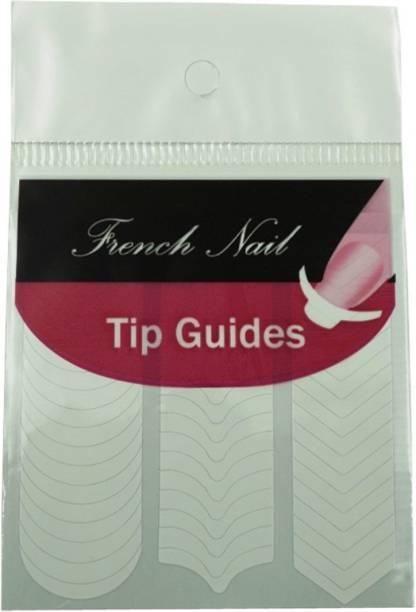 SENECIO™ DIY French Tip Guide Manicure Nail Art Decorations Form Fringe Sticker Stencil Style-2
