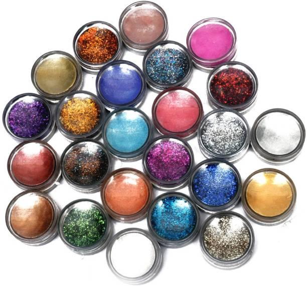 AARIP 12 Color Flocking Velvet Powder & Nail Art Glitter