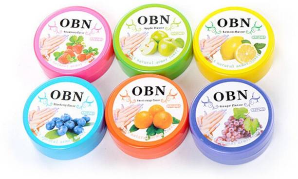 Kairos OBN Nail Polish Remover Pads Wet Wipes Pack of 6