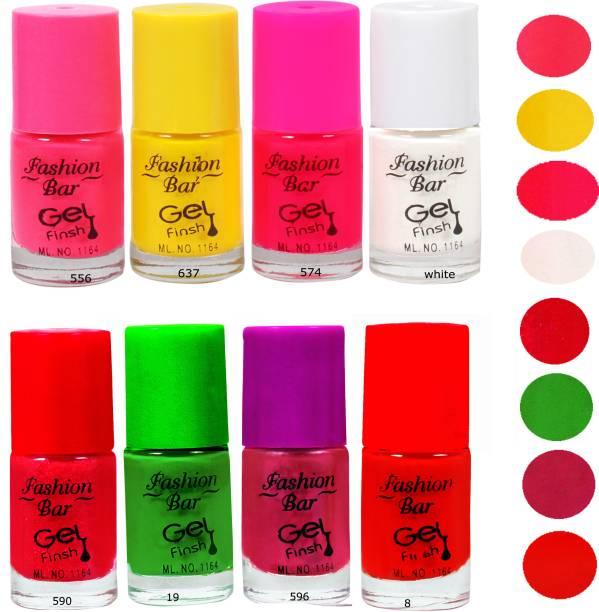 Fashion Bar Neon Combo 8 in 2 Multicolor,