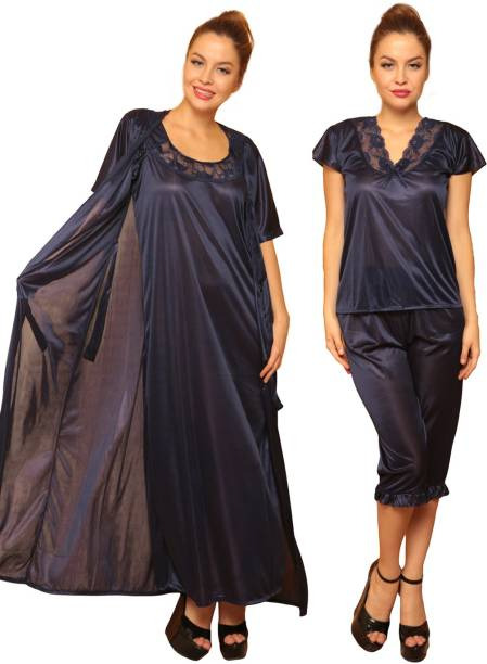 Nighty Set Night Dresses Nighties - Buy Nighty Set Night Dresses ... 5317366aa