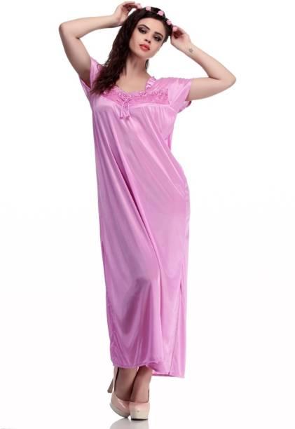 9ac76422c2 Kem Flow Gold Night Dresses Nighties - Buy Kem Flow Gold Night ...