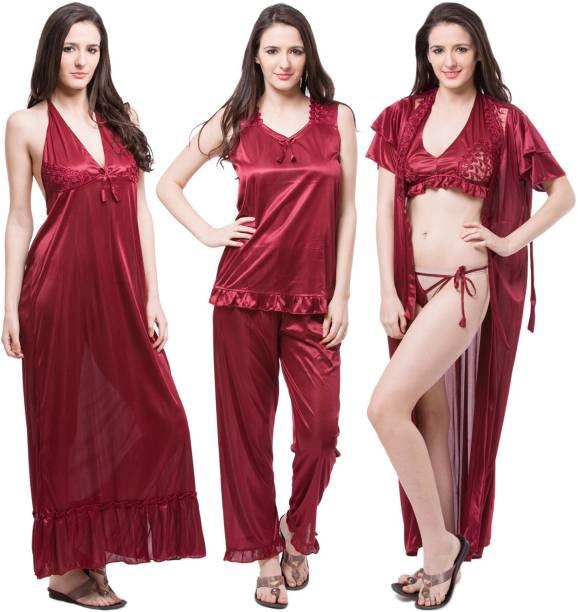 Fasense Night Dresses Nighties - Buy Fasense Night Dresses Nighties ...