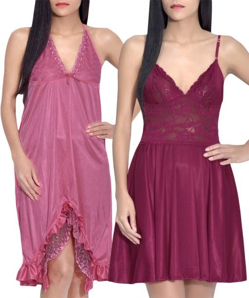 Summer Love Cotton Sarees Night Dresses Nighties - Buy Summer Love