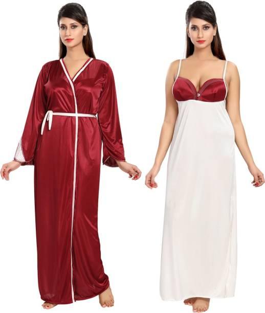 df9aebb0227 Maroon Night Dresses Nighties - Buy Maroon Night Dresses Nighties ...