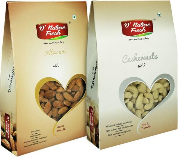 D NATURE FRESH All Natural Cashews, Almonds