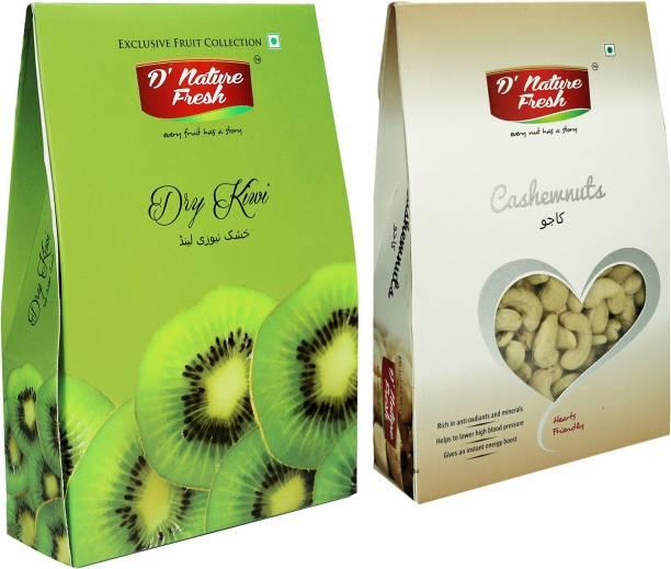 D NATURE FRESH Dry, Cashews, Kiwi