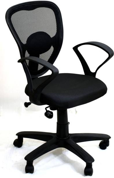 TimberTaste DOLLY Fabric Office Arm Chair