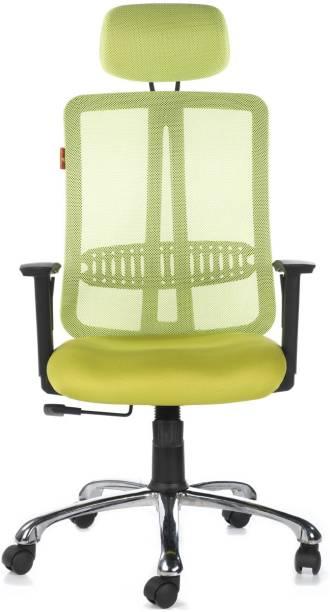 Bluebell Matrix High Back Fabric Office Arm Chair