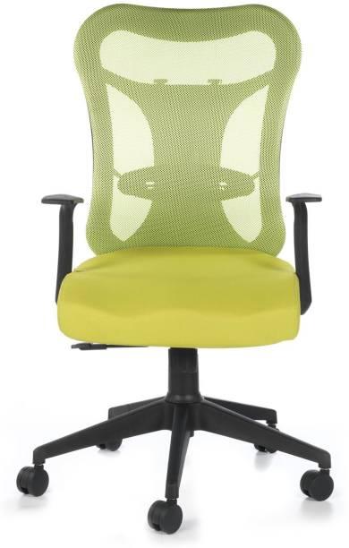 Bluebell Kruz Mid Back Fabric Office Arm Chair